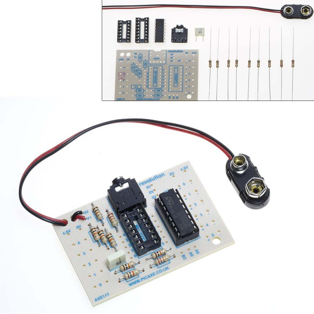 Development Boards Picaxe Programming Circuit Standard Project Board For 14m2